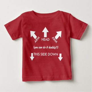 You Can Do it Daddy Funny Baby Baby T-Shirt