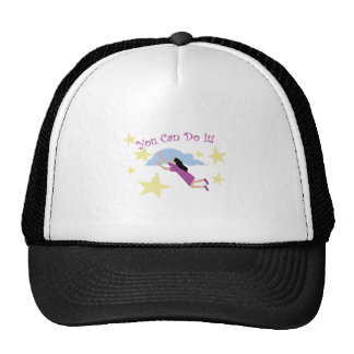 You Can Do It Mesh Hat