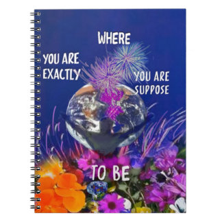 You can do it spiral notebook
