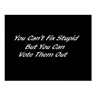 You Can Fix Stupid Postcard