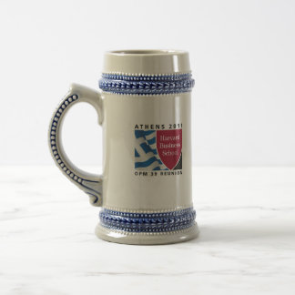 You can get a lot of Ouzo in this! Beer Stein
