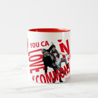 YOU CAN LOVECOMMONS magnet Type2 Two-Tone Coffee Mug