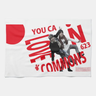 YOU CAN LOVECOMMONS towel Type2