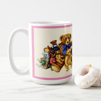 You Can Never Have Too Many Teddy Bears MUG Pink