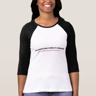 You Can Overcome My Bosoms Lady's Tee