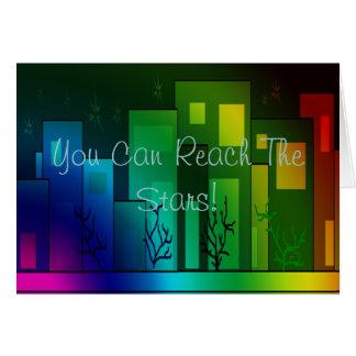 You Can Reach The Stars! Card