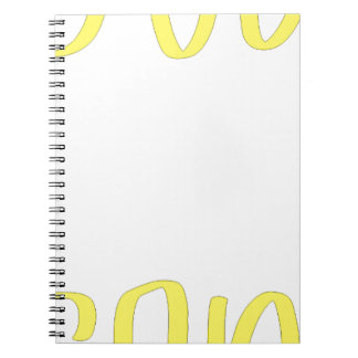 You can spiral notebook