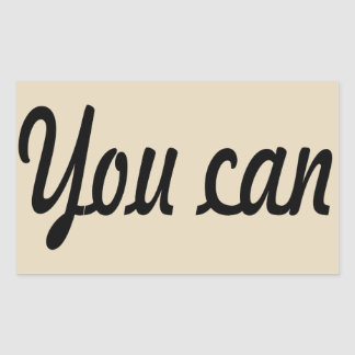 you can sticker