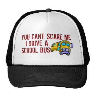 You Can t Scare Me Mesh Hats
