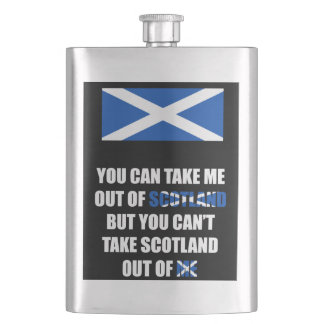 You Can Take Me Out of Scotland... Hip Flask