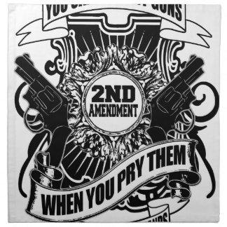 You can take my Guns Napkin