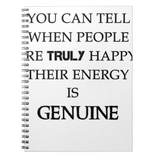 you can tell when people are truly happy. their en notebooks