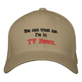 You can trust me embroidered hat