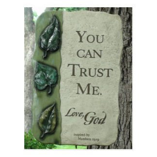 You Can Trust Me, Love God, Postcard