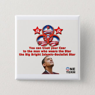 You can trust your Czar 2 Inch Square Button