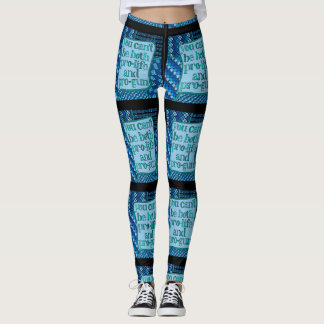 You Can't Be Both - Leggings for Gun Safety