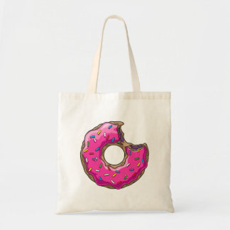 You can't buy happiness but donut tote bag