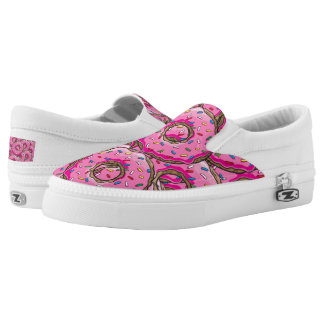 You can't buy happiness but many donuts Slip-On sneakers