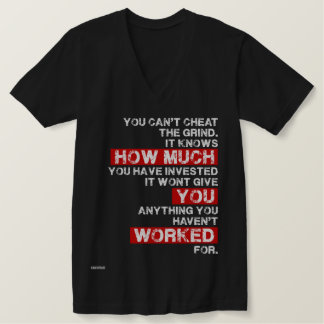 You cant cheat the grind success motivation shirt