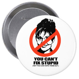 You can't fix stupid, but you can vote them out button