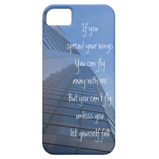 You can't fly unless you let yourself fall, iPhone iPhone 5 Cases