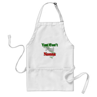 You Can't Fool Nonna (Italian Grandmother) Standard Apron