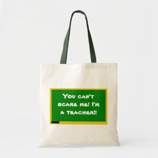 You can't scare me! I'm a tea... Tote Bag