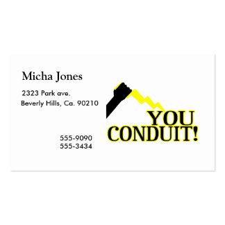 You Conduit Business Card