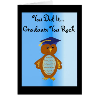 You Did It Graduate Card