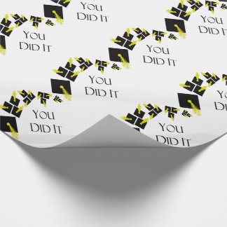 You Did It Wrapping Paper