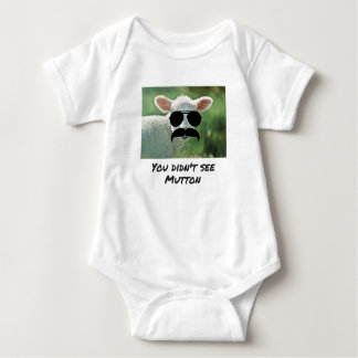 You Didn't See Mutton Baby Bodysuit
