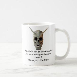 You Die Basic White Mug