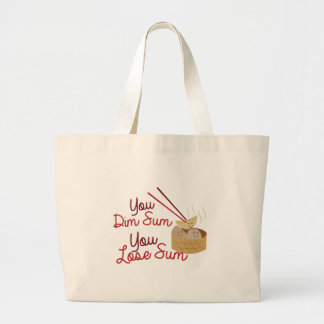 You Dim Sum Large Tote Bag