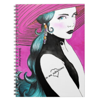 You do not underestimate to me spiral notebook