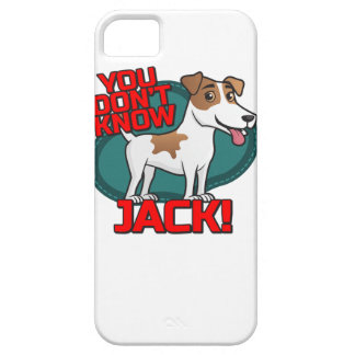 You Don't Know Jack - Russell Terrier Shirt iPhone 5 Covers