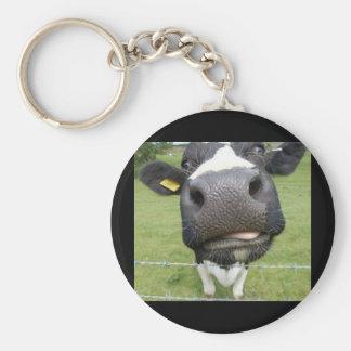 You Dumb Cow Keychain