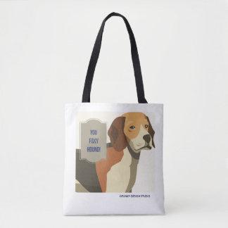 You Foxy Hound tote bag