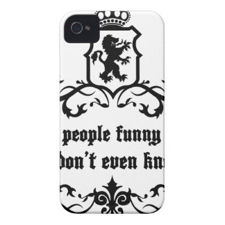 You Give People Funny Moments Medieval quote iPhone 4 Cases