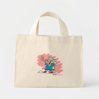 You go, girl diamond lil mini tote bag