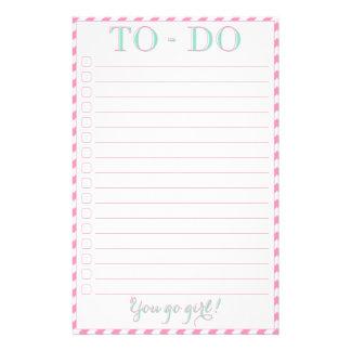 You Go Girl - To-Do List Flyer