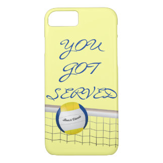YOU GOT SERVED - BEACH VOLLEYBALL iPhone 7 Case