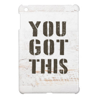 you got this case for the iPad mini