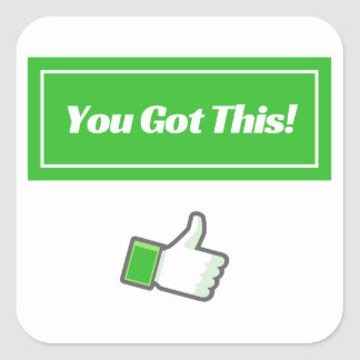 You Got This! - Stickers