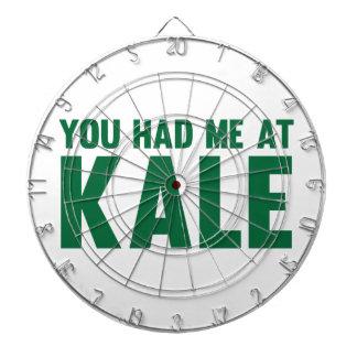 You Had Me At Kale Dartboard