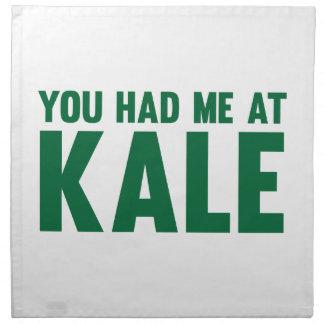 You Had Me At Kale Napkin