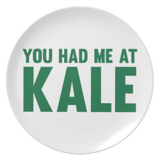 You Had Me At Kale Plate