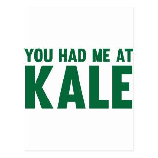 You Had Me At Kale Postcard