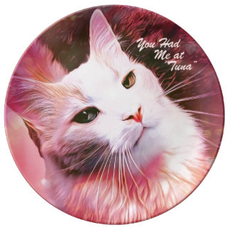 "You Had Me at Tuna 10.75"" Porcelain Plate"
