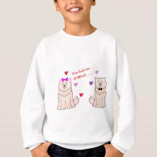You Had Me At Woof Chow Chow Cream Sweatshirt