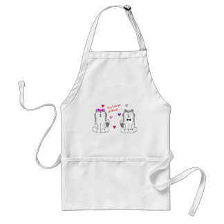 You Had Me At Woof Siberian Husky Standard Apron